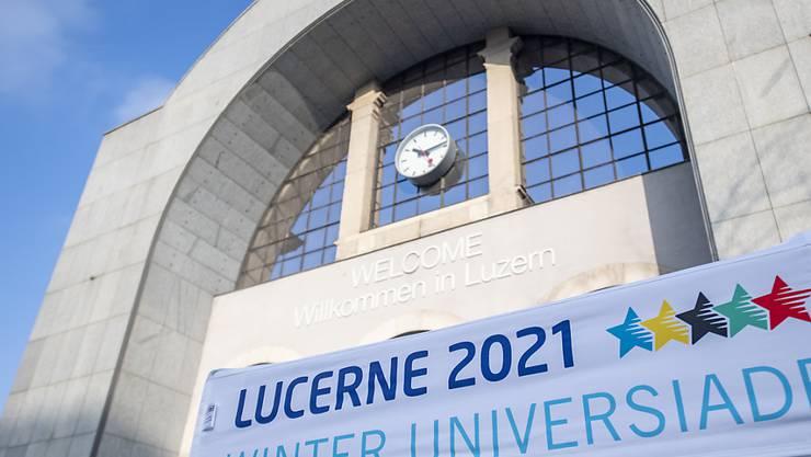 Immer noch 2021, aber neu im Dezember statt Januar: die Winter-Universiade in der Zentralschweiz