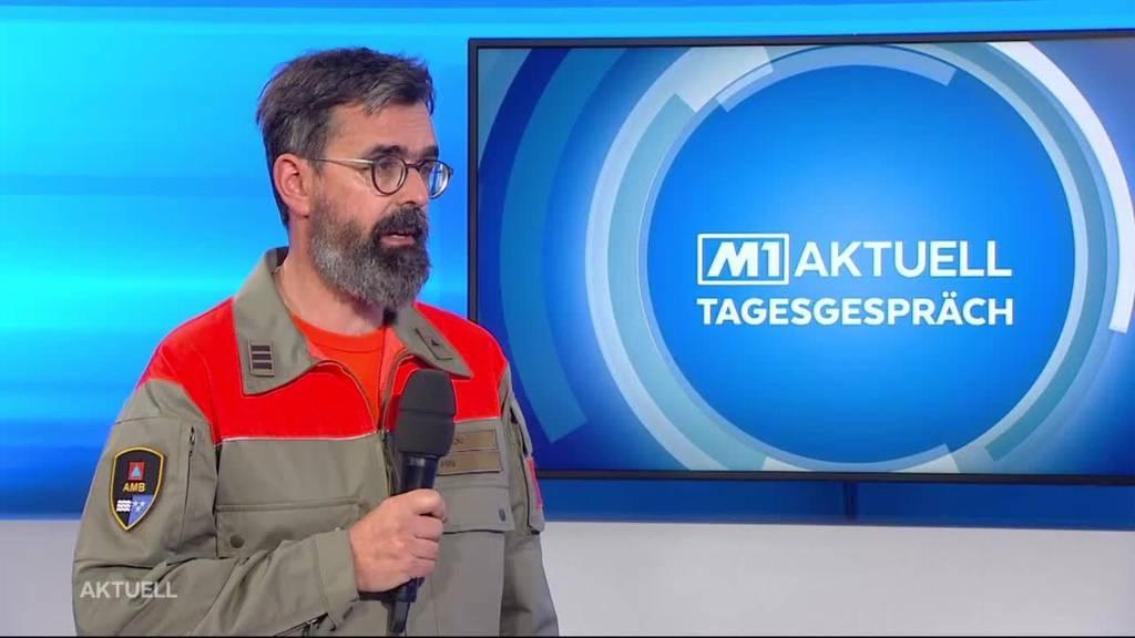 Aargauer Regierungsrat bewilligt Zivilschutzeinsatz