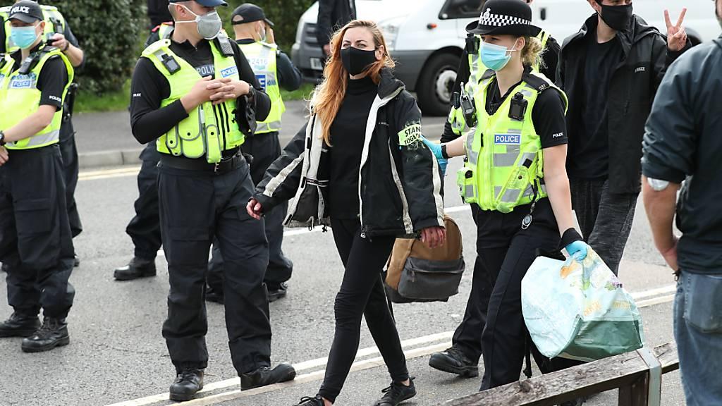 Medien: London will härter gegen Extinction Rebellion vorgehen