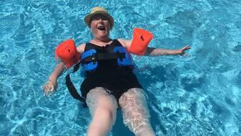 Im Wasser erleben auch Behinderte die Schwerelosigkeit.