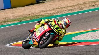 Dominique Aegerter verpasste beim GP Aragon die Punkteränge deutlich