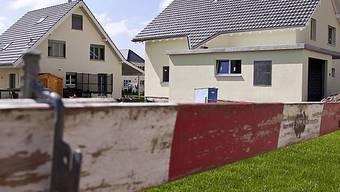 Neue Häuser in der Zürcher Gemeinde Neftenbach