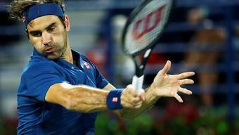 Roger Federer musste in Dubai auch im Achtelfinal gegen Fernando Verdasco über drei Sätze gehen