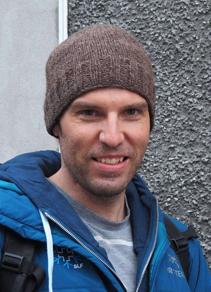 Benjamin Zweifel, Lawinenprognostiker am Institut für Schnee- und Lawinenforschung.