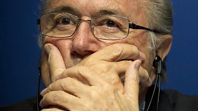 FIFA-Präsident Blatter besänftigt die Bild-Leser.