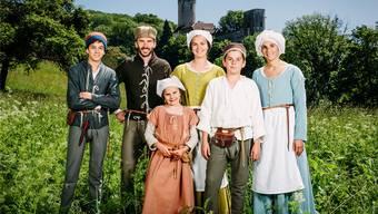 Familie Dietschi aus Kestenholz ist die TV-Familie «Leben wie vor 500 Jahren»