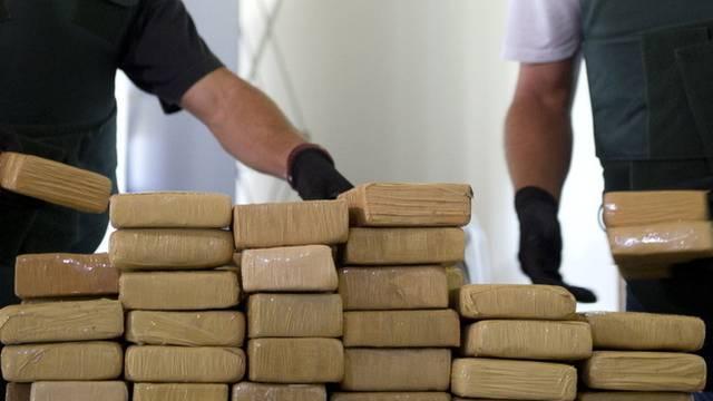 Sichergestelltes Kokain (Symbolbild)