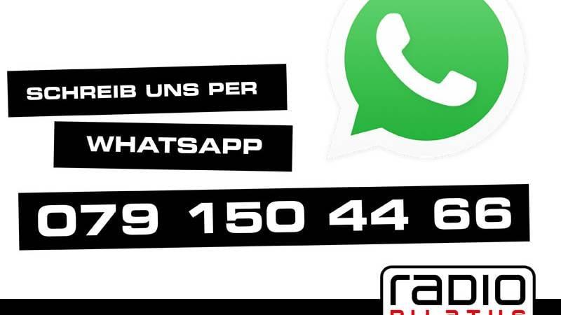Radio Pilatus neu auf WhatsApp erreichbar