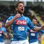 Wie so oft Dries Mertens: Der belgische Stürmer freut sich über sein 1:0