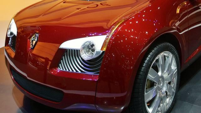 Der Zoé von Renault wurde 2005 beim Salon in Genf als Concept Car vorgestellt (Archiv)