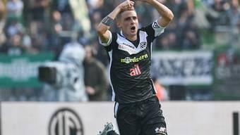 Luganos Mattia Bottani avanciert mit einem Treffer und einem Assist zum Matchwinner