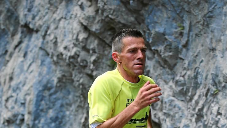 Vor fünf Jahren hat er noch über eine Teilnahme gelacht: Inzwischen hat Roman Wyss bei der Königsstrecke am Swiss Alpine Marathon zweimal den 4. Platz belegt.