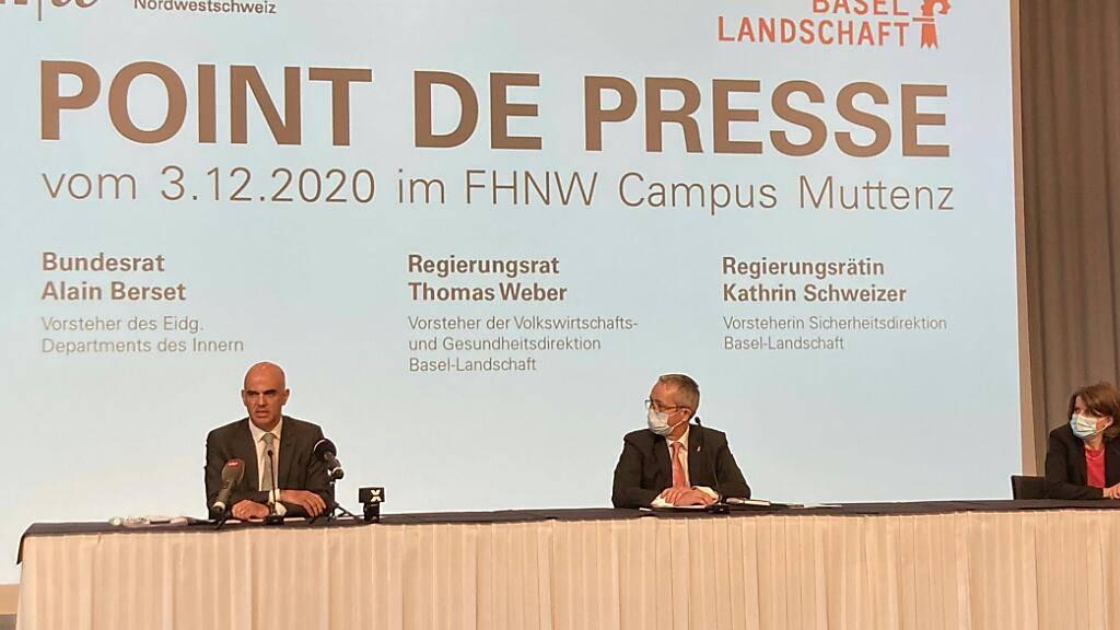Berset: «Schweiz lässt sich nicht unter Druck setzen»