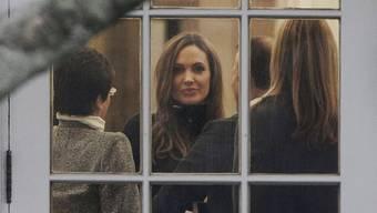 Angelina Jolie im Weissen Haus