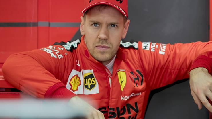 Bei Ferrari vor dem Abgang: Sebastian Vettel