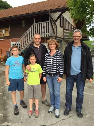 Familie Yvert mit Regula und Robert