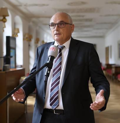 Pierre Alain Schnegg (SVP) ist seit 2016 Berner Gesundheitsdirektor.