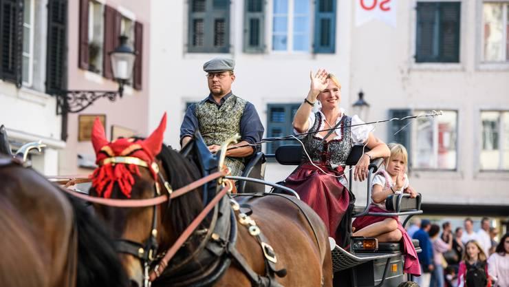 Impressionen vom Tag des Pferdes 2016 in Solothurn