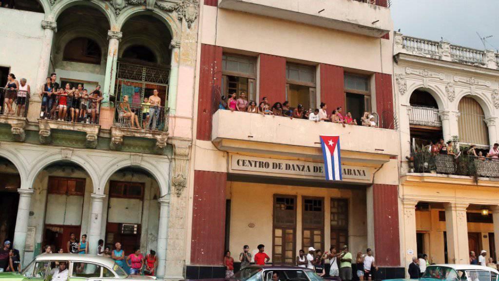 Begrenzter Privatbesitz in Kuba