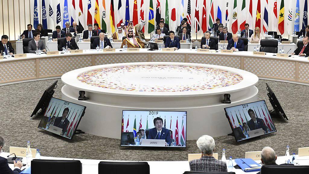 Nach langem Ringen um die Klimapolitik haben sich die Teilnehmer des G20-Gipfels am Samstag auf ein Ergebnis geeinigt.