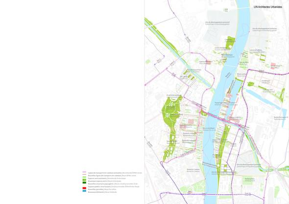 Darin zeigen sie  die Ergebnisse der Ende 2013 in Auftrag gegebenen Studie für die gemeinsame Entwicklung des Gebiets zwischen der Palmrain- und der Dreirosenbrücke in Basel.
