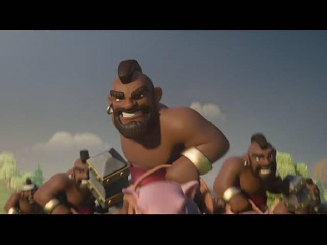 «Clash of Clans: Ride of the Hog Riders»: Die offizielle TV-Werbung zum Online-Game.