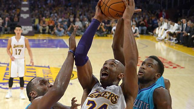 21 Punkte für die Lakers: Kobe Bryant (Nr. 24)