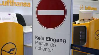 Nichts zu machen: Lufthansa-Streik hat begonnen