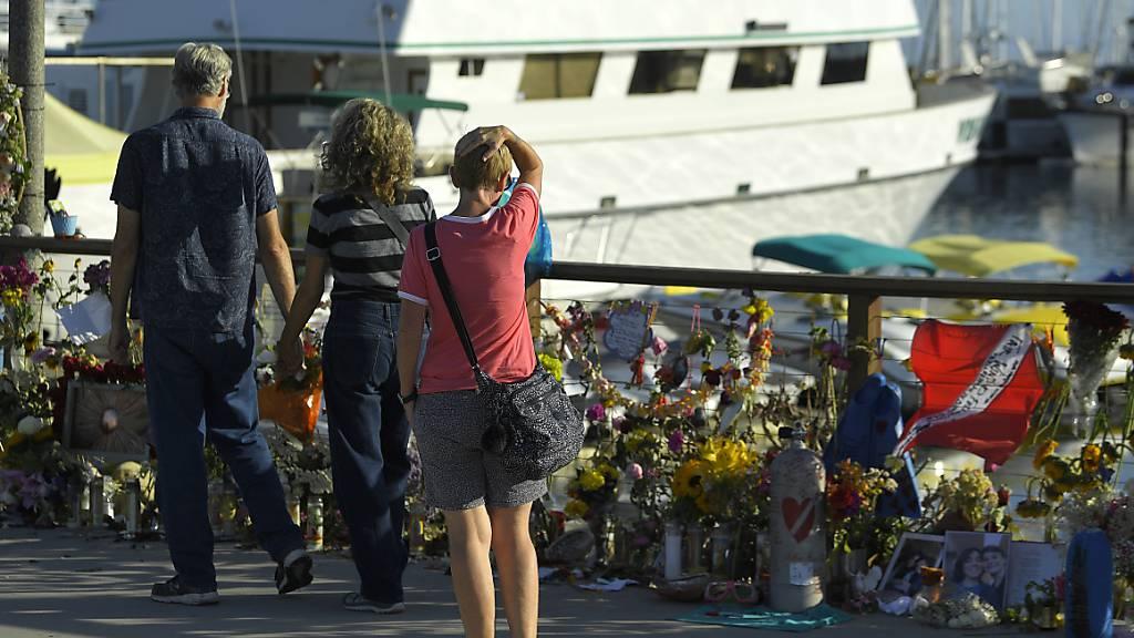 Letzte Leiche nach Bootsfeuer mit 34 Toten entdeckt