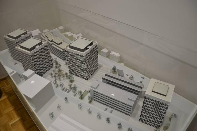 Das Gebäude, das jetzt erstellt wird, ist nur eines von vieren, die im Gestaltungsplan vorgesehen sind
