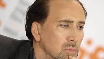 Nachdenklicher Nicolas Cage (Archiv)