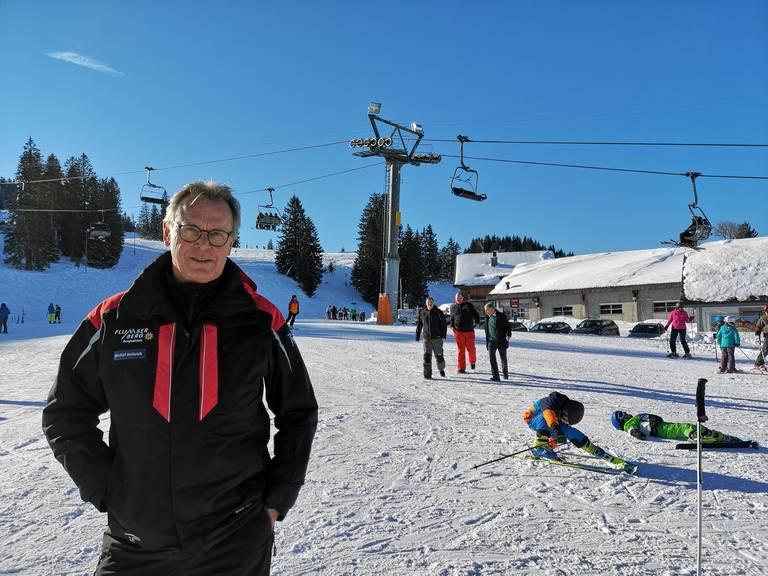Heinrich Michel, CEO der Bergbahnen Flumserberg: «Der ganze Berg war betroffen.»