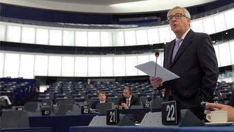EU-Kommissionspräsident Juncker musste nachgeben.Vincent Kessler/Reuters