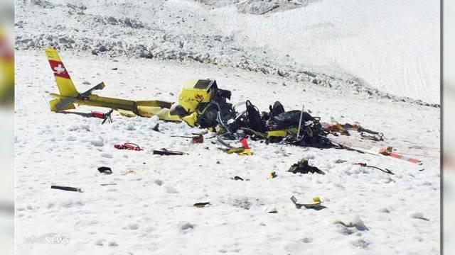Pilot stirbt bei Helikopterabsturz in Lauterbrunnen