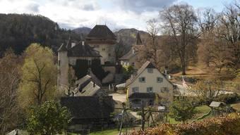 Das Schloss Wildenstein bei Bubendorf.