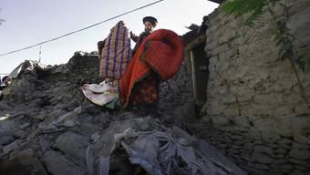 Pakistan wird immer wieder von Erdbeben erschüttert, so etwa am 29. Oktober 2015 in Chitral in Nordpakistan. (Archivbild)