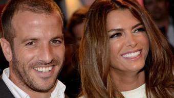 Solche Bilder wird es von Sabia Boulahrouz und Rafael van der Vaart nicht mehr geben: Der Fussballer hat seine schwangere Lebenspartnerin verlassen (Archiv).