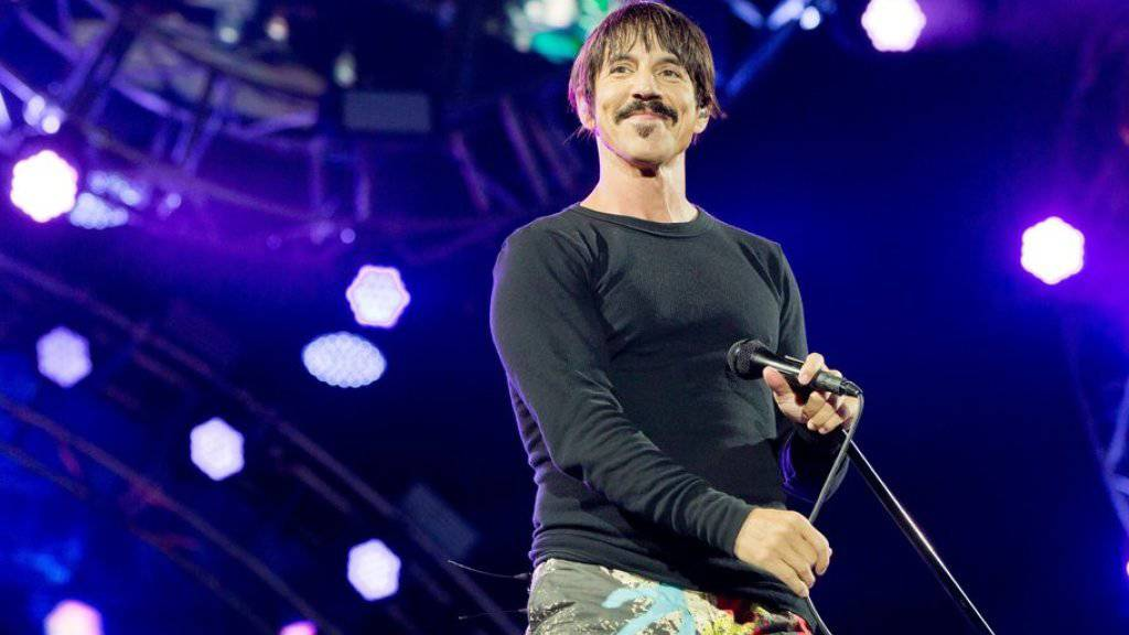 """Die begehrteste Frau der Welt war meine Freundin, das machte mich mächtig stolz"": Anthony Kiedis, Frontmann der Red Hot Chili Pepers, über Heidi Klum. (Archivbild)"