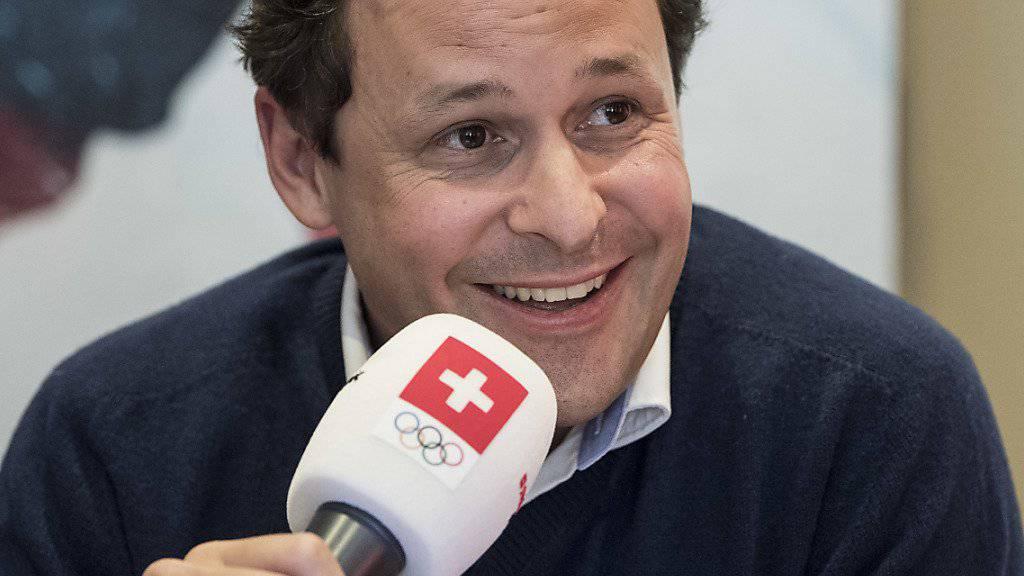 Blickt mit Optimismus den Winterspielen in Pyeongchang entgegen: Chef de Mission Ralph Stöckli