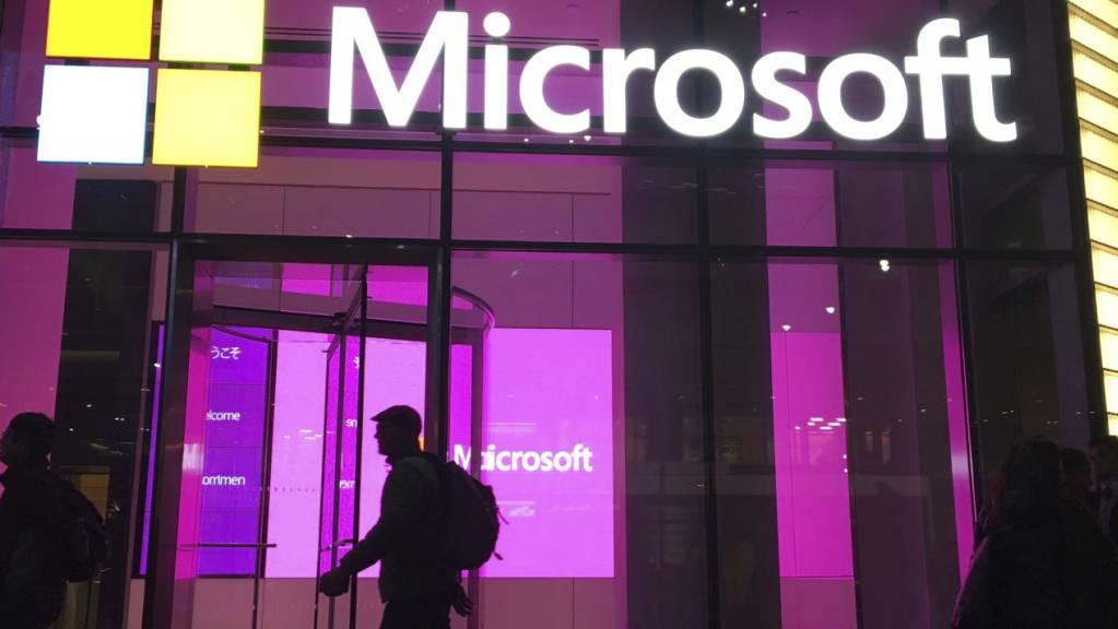 Wegen eines Hackerangriffs auf den Microsoft-Konzern sieht die US-Regierung noch grossen Handlungsbedarf bei Unternehmen. (Archivbild)