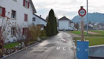 Auf dem Oberen Kirchweg gilt ein temporäres Fahrverbot.