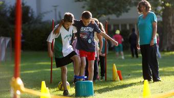 Sporttag des Schulhauses Kastels in Grenchen