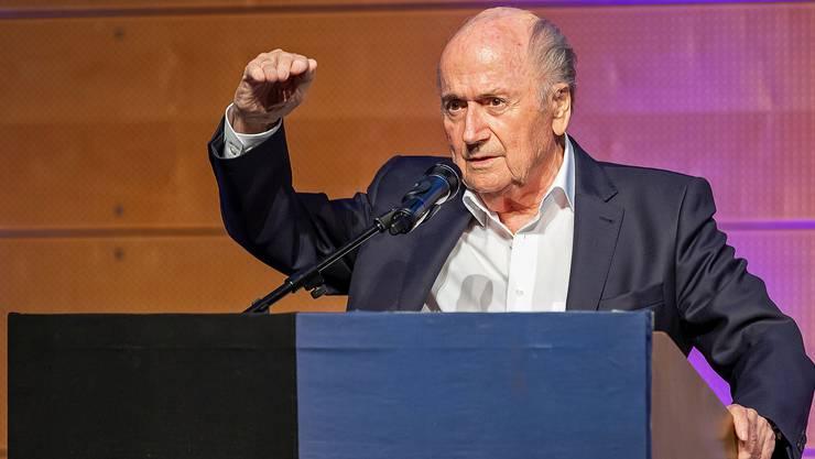 41 Jahre im Dienste des Fussballs und der FIFA: Sepp Blatter hielt einen philosophischen Rückblick.