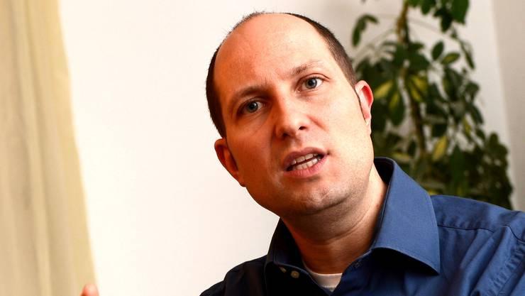 SVP-Fraktionspräsident Dominik Straumann.
