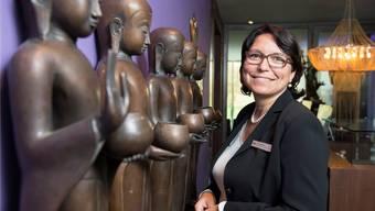 Karin Zubler, Verantwortliche Marketing und Medien des Seerose Resort & Spa in Meisterschwanden. Alex Spichale