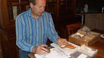Werner Broglis Sammlung soll der Öffentlichkeit gezeigt werden. AZ/Archiv