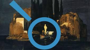 Basler Urversion von Arnold Böcklins «Die Toteninsel» (1880).