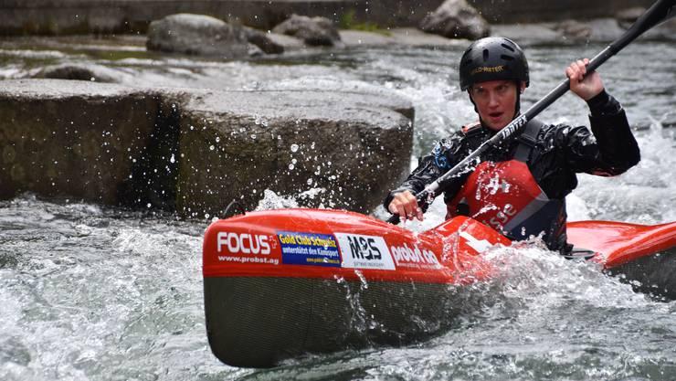 Melanie Mathys an den Europameisterschaften im Sprint.