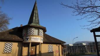 Die Ortsbürger wollen Baufeld 2 (Bauprofile) in der Aarenau überbauen. Aus dem Schützenhaus soll ein Bistro werden. KSC
