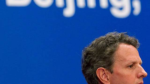 US-Finanzminister Timothy Geithner in Peking